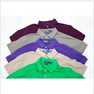 Polo by Ralph Lauren Short Sleeve Polo 5 Shirts